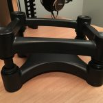 IsoAcoustics ISO-L8R200 Large Studio Monitor Stands - Side without monitor