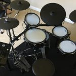 Roland TD-50K - Stock cymbal/tom layout